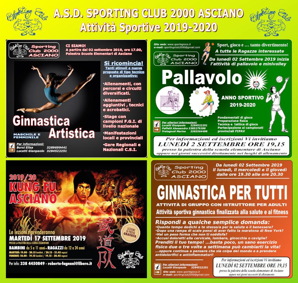 Calendario Fgi 2020.Sport E Gioco Attivita Sportiva
